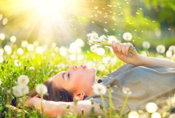 pomoc z suchością z powodu alergii